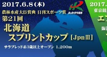 【北海道スプリントカップ 2017】最終予想|3連単・3連複ズバリ!1点予想!