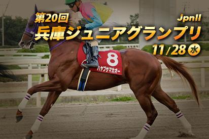【園田競馬】兵庫ジュニアグランプリ2018|デルマルーヴル軸馬に馬単表裏で勝負!!
