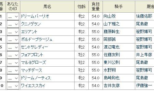 ジュニアキング2018予想│12月13日開催の笠松競馬全11レースを3連単予想してみた!
