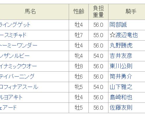 初雪特別2018予想│12月12日開催の笠松競馬全11レースを3連単予想してみた!