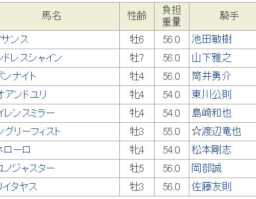 銀嶺特別2018予想│12月11日開催の笠松競馬全10レースを3連単予想してみた!