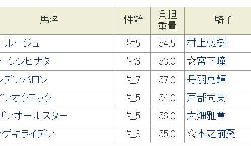 ガーネットオープン2019予想│1月18日開催の名古屋競馬全レース3連単買い目を発表!