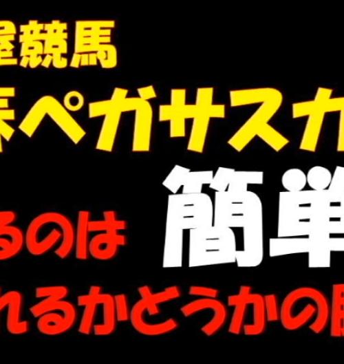 新春ペガサスカップ2019予想│1月16日の名古屋競馬全レースを3連単予想してみた!