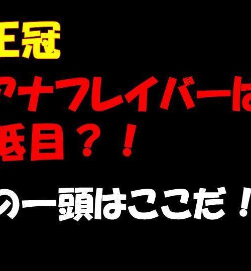 勝島王冠2019予想|出走馬紹介!予想は動画で!モジアナフレイバーはやや軽視!