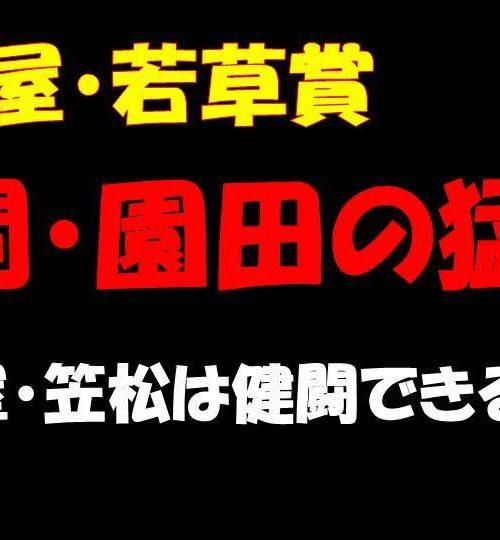 名古屋競馬・若草賞2020予想|ここは他地区の南関・園田勢を重視で勝負!